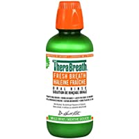 TheraBreath Dentist Recommended Fresh Breath Oral Rinse - Mild Flavor, 16 Ounce/473ML