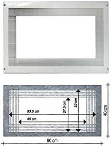LG–Marco para microondas, color blanco para Micro Onda encastrable LG