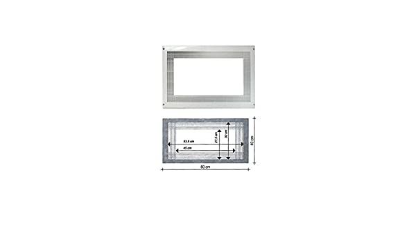 LG - Marco para microondas, color blanco para Micro Onda ...