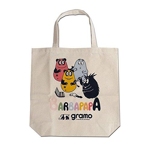 gramo(グラモ)×BARBAPAPA(バーバパパ) エコバッグ seed-paint B-031