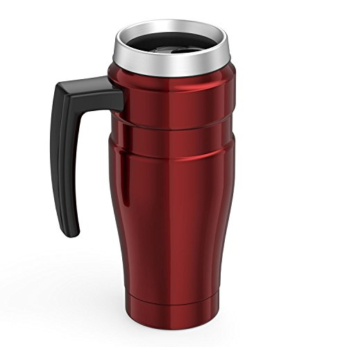 Thermos Stainless King 16 Ounce trave Mug together with Handle Cranberry Commuter trave Mugs