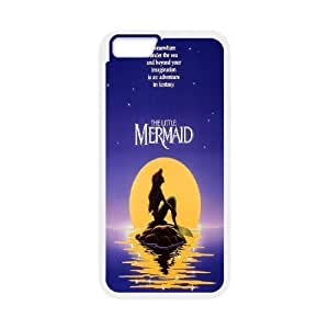 Custom High Quality WUCHAOGUI Phone case The Little Mermaid & Ocean Protective Case For Apple Iphone 6,4.7