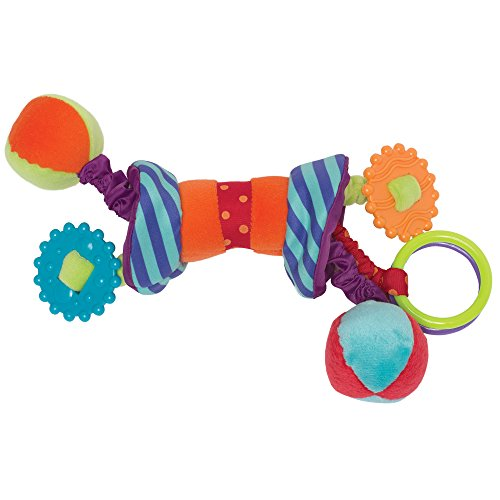 Manhattan Toy Ziggles Rattle and Teether Developmental Activity Toy