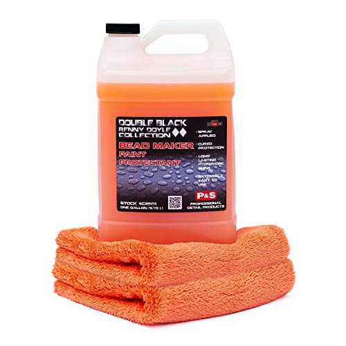 P&S Detailing Products C2501 - Bead Maker Paint Protectant (1 Gallon) with Free Bead Maker Ultimate Microfiber Towel