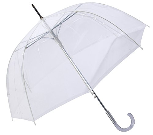 Dome/Bubble Auto Open Clear Umbrella