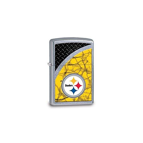 - Zippo NFL Pittsburgh Steelers Street Chrome Lighter