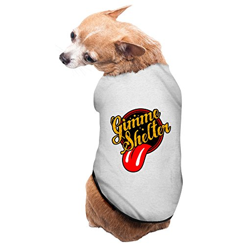 Gray Gimme Shelter Rock Rolling Stones Phillip Pet Supplies Dog Outfit Dog Sweater (Stones Dave Matthews Rolling Band)