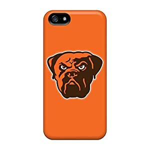 Defender Cases For Iphone 5/5s, Cleveland Browns 5 Pattern