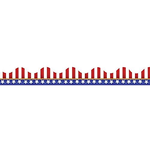 Eureka American Flags Electoral Deco Trim (845031)