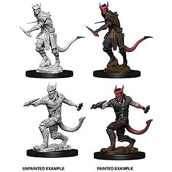 D&d Nolzur's Marvelous Miniatures - Tiefling Male Rogue