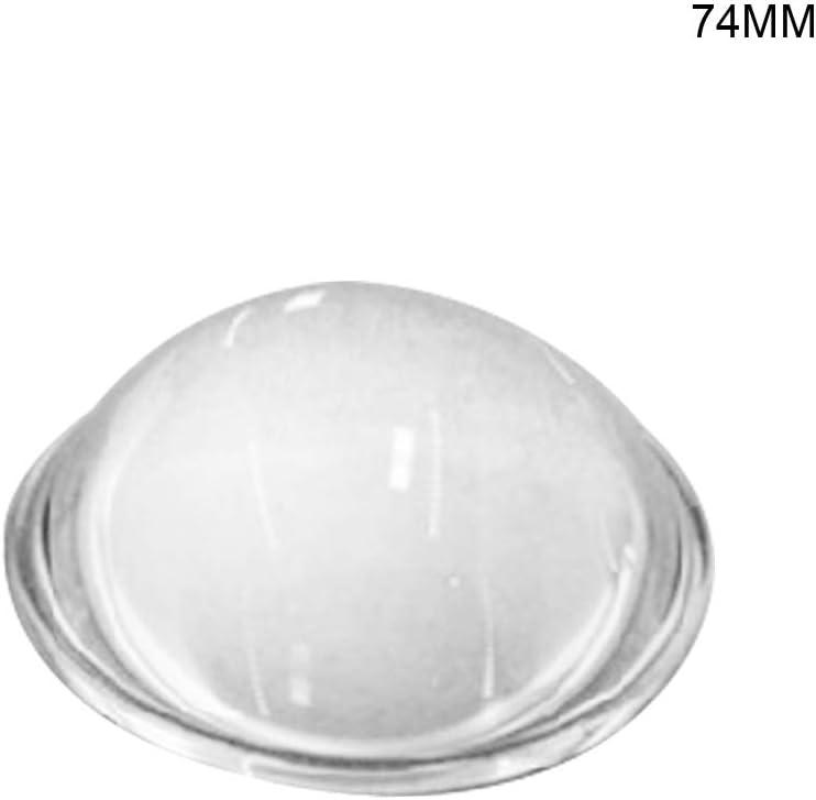 7# 50cm ZOOMY Lente Convessa Convessa in Vetro Ottico Lente a condensatore con Messa a Fuoco Fai-da-Te