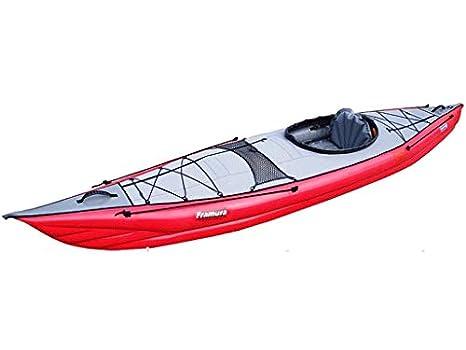 gumotex - framura Juego roja Kayak hinchable con aleta 045222-r (5 ...