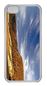 Customized iphone 5C PC Transparent Case - Scenery Cover