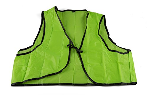 SE EP123LG Disposable Safety Vest in Lime Green, One Size Fits - Disposable Safety Vests