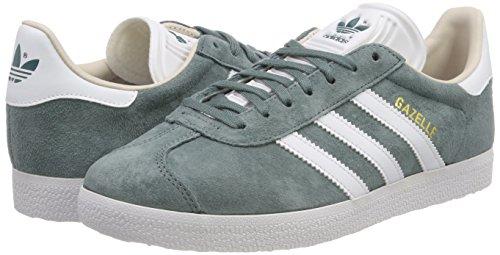 linen Gazelle Femme Chaussures Adidas De Vert rawgrn Gymnastique W B41661 ftwwht zwdnqgT