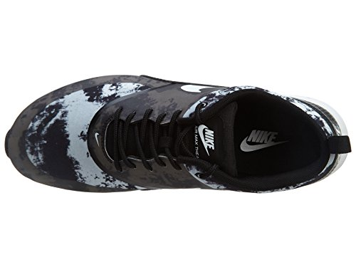Nike Womens Air Max Thea Joggesko Sort / Hvitt-mørk Grå