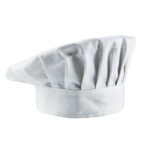 Timfany Chef Hats,Adjustable Size Chef Hat for Adult or Kids Pack of 1 (Costume Supply)