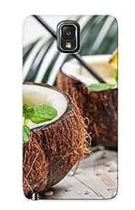 Galaxy Note 3 Case Bumper Tpu Skin Cover For Pina Colada Cocktail Coconut Pineapple Accessories