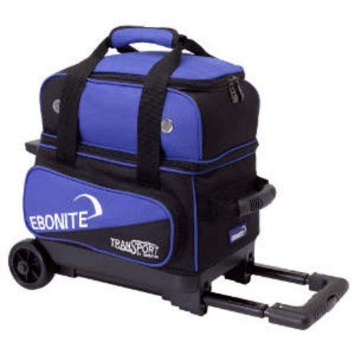 Ebonite Transport I Bowling Ball Bag, Black/Blue by Ebonite