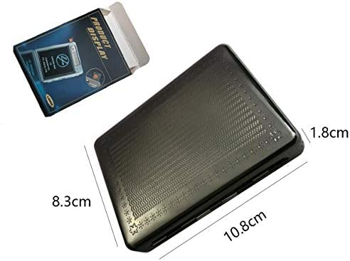 pitillera-encendedor de metal Sunwbak 20 unidades, con cable USB, recargable, sin llama, resistente al viento Sun/_lighter ideal para regalo de cumplea/ños.