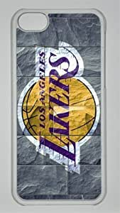 NBA Los Angeles Lakers in Stone Background Custom PC Transparent Case For Samsung Galsxy S3 I9300 Cover