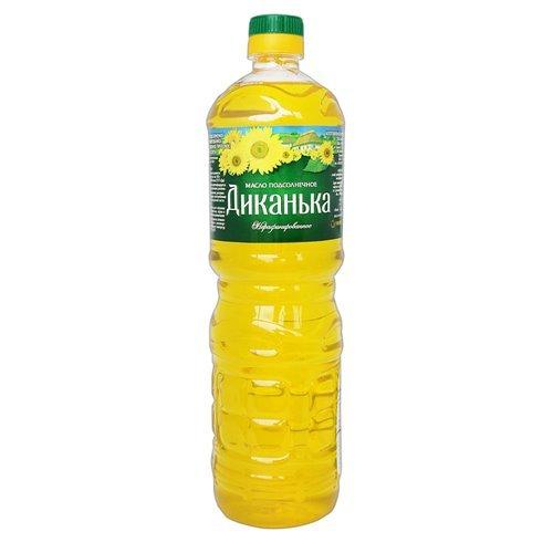 "Sunflower Oil Not Rafinated ""Dikanka"" 32 oz"