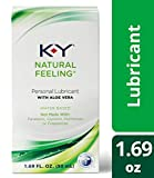 K-y Natural Feeling Personal Lubricant Gel With Aloe Vera