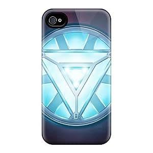 Cute High Quality Iphone 4/4s Iron Man Heart Case