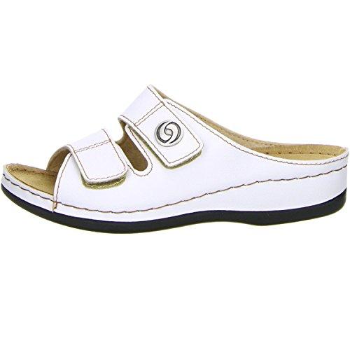 Vista Damen 69-608 Pantoletten Weiß (Weiß)
