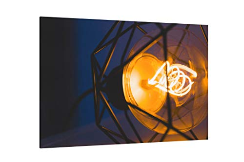 Long Exposure Photo of Pendant Lamp - Canvas Wall Art Gallery Wrapped 12