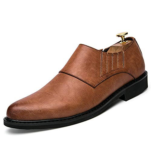 Business Marrone Fashion Oxford da comode da e Casual Scarpe Britanniche British Cricket Uomo Resistenti all'Usura Scarpe rIrZdHwx