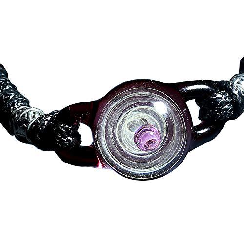 Pavaruni Original Galaxy Pendant Bracelet, Universe Glass Accessories, Space Cosmos Design,Birthday (Leto)