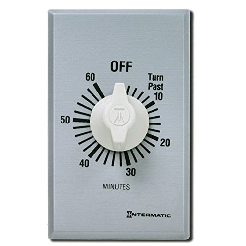Intermatic SW60MK 60-Minute Spring Wound Timer, (60 Min Spring)