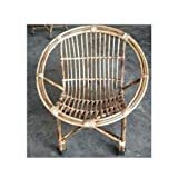 All INDIA HANDICRAFTS Small Cane Chair for Kids 3-15 Year (Upto 50 Kgs)