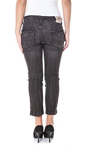 0801 Nero Donna Pinocchietto Parasuco Jeans P03f tIwqwX7