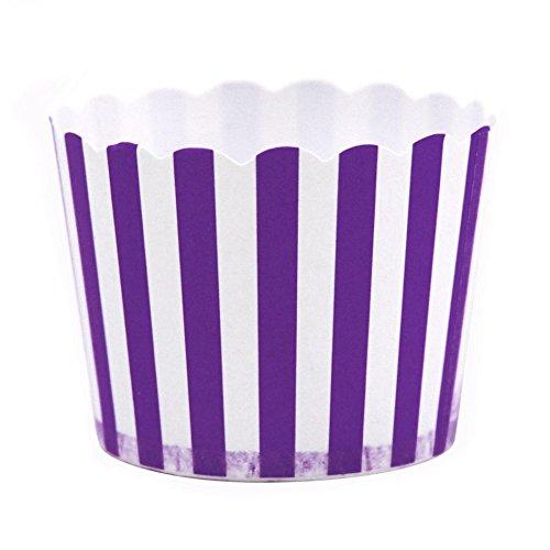 purple striped popcorn - 1