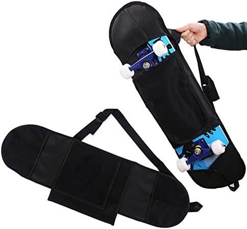 Skateboard Bag Professional Thicken Singe Shoulder Adjustable Cover Carry Solid