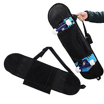 76baa6d18d Auntwhale Longboard Sac à Dos Sac à Dos Skateboard Sac à Dos Pratique Non  tissé Noir