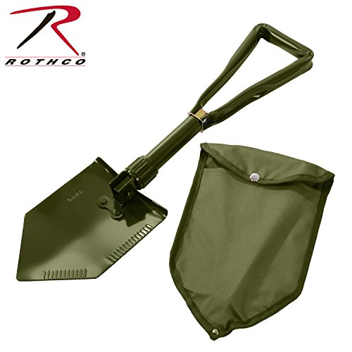 Rothco Deluxe Tri-Fold Shovel with Cover ()