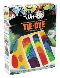 Duff Goldman, Tie-Dye, Premium Cake Mix, 18.25oz Box (Single) by Duff]()