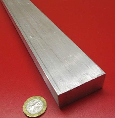 JumpingBolt 6061 T651 Aluminum Bar, 7/8'' (.875'') Thick x 2.0'' Wide x 36'' Length Material May Have Surface Scratches (0.875' Diamond)