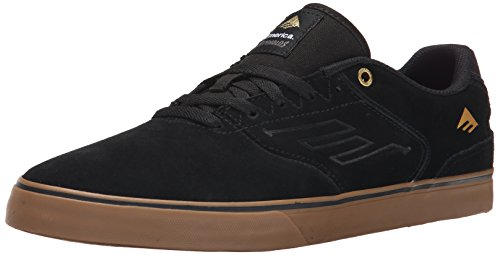 Reynolds Negro Emerica Men Skateboarding Low Negro 964 The Gum rxrqYCw5