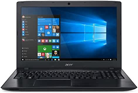 Acer Aspire E 15 E5-575-33BM 15.6-Inch Full HD Notebook (Intel Core i3-7100U Processor 7th Generation , 4GB DDR4,  1TB 5400RPM Hard Drive,  Intel HD Graphics 620, Windows 10 Home), Obsidian Black