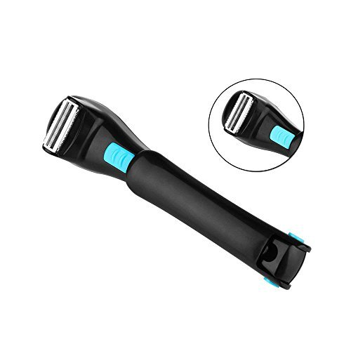 Teepao Back Hair Removal and Body Shaver for Men and Women,Easy to Use Extra-Long Handle for a Close,Pain-Free Shave,Perfect for Dry & Wet Use by Teepao