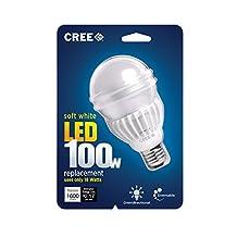 Cree Soft White (2700K) A19 LED Light Bulb (100W Equivalent)
