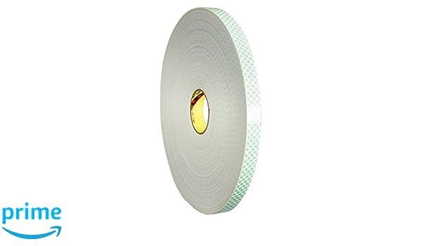 3M Cinta Adhesiva con Espuma de Polietileno Mount Soporte, 4008, 25,4 mm x 33 m, 3,2 mm, 9 unidades, Beige: Amazon.es: Industria, empresas y ciencia