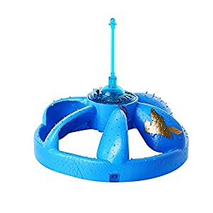Geekercity Cute UFO Flying Disc - Mini Infrared Sensor Flying Saucer UFO Hand Induced Hovering and Floating Flight Hand Movements Toy UFO Magic Trick Toys with LED Lights