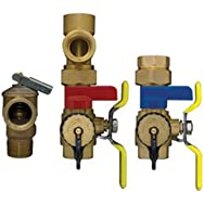 Webstone 3/4 E3 EXP Tankless Water Heater Service Valves 4444W Series