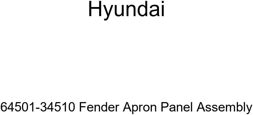 Genuine Hyundai 64501-34510 Fender Apron Panel Assembly