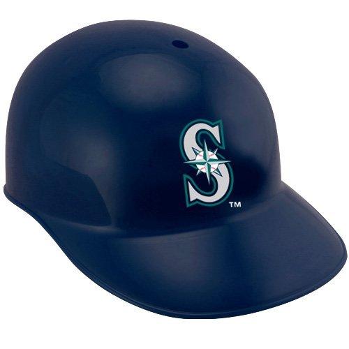 Jarden Sports Licensing Rawlings Official MLB Replica Baseball Team Helmets; Seattle Mariners